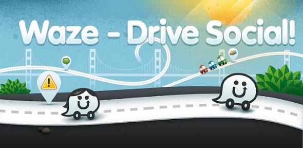 Waze app conducir