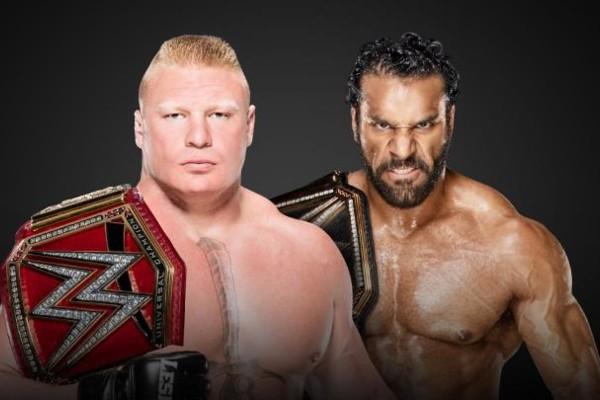 Brock Lesnar Jinder Mahal Survivor Series 2017