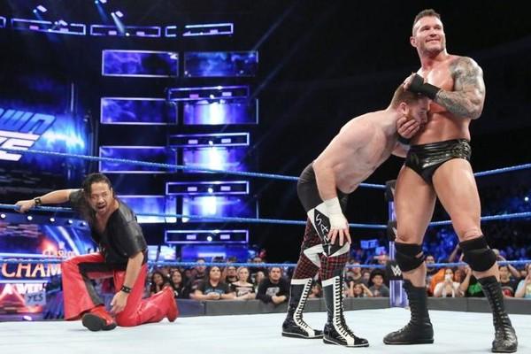 Randy Orton w/ Shinsuke Nakamura and Sami Zayn