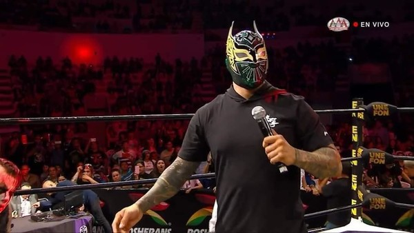 Sin Cara Makes First Appearance Since Leaving WWE