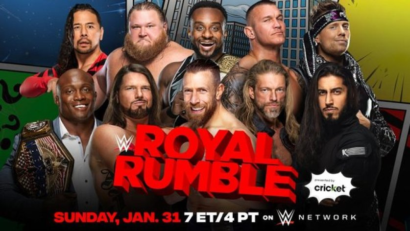 WWE Adds New Title Match To Sunday's Royal Rumble 2021 Card
