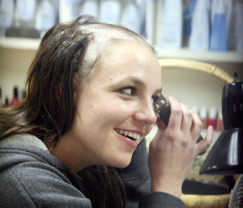 Having bad day? If Britney can survive 2007, you can survive today!
