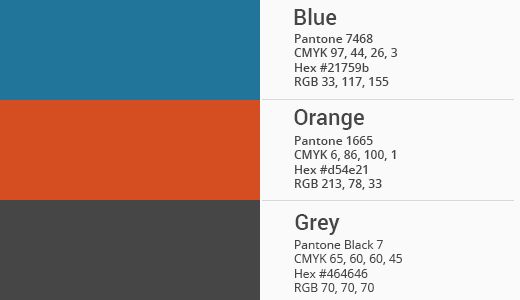 Official WordPress color palette