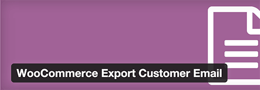 Export Customer Email