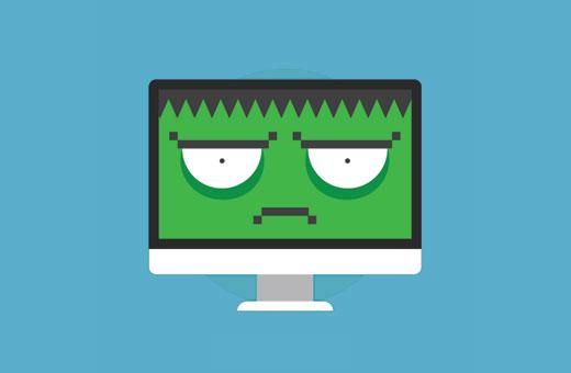 Sites Web piratés