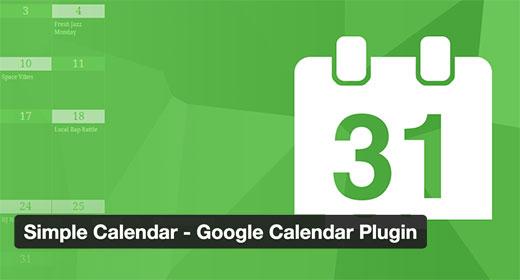 Google Calendar Plugin