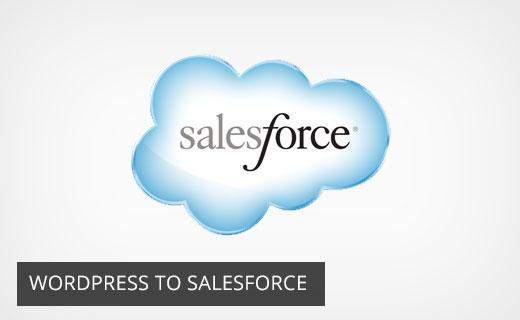 WordPress to Salesforce CRM