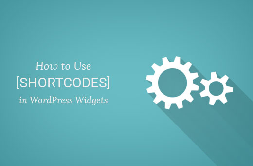 Using shortcodes in WordPress sidebar widgets