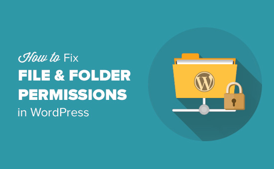 Fix file and folder permissions in WordPress