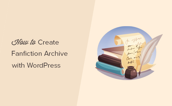 Creating fanfiction archive with WordPress
