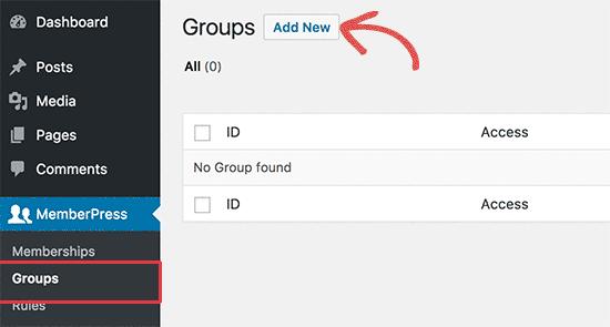 Membuat grup