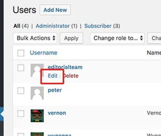 On The User Profile Screen Scroll Down To The Nickname Option And Enter The Name You Want To Be Displayed For Example Editorial Team