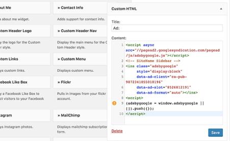 Image result for google adsense verification code html widget