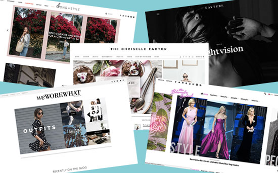 Top fashion blog examples