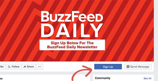 Promoting newsletter on social media