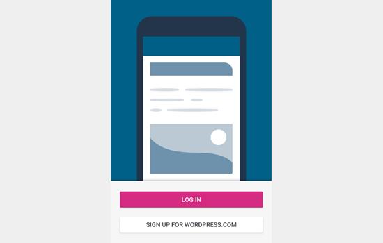 Войдите в свою учетную запись WordPress.com