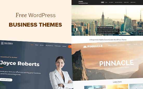 Best free WordPress business themes