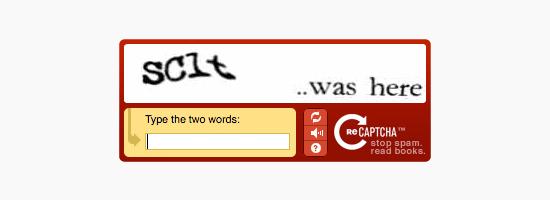 pratinjau reCAPTCHA