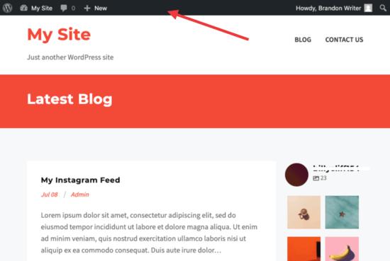 wordpress hide admin bar