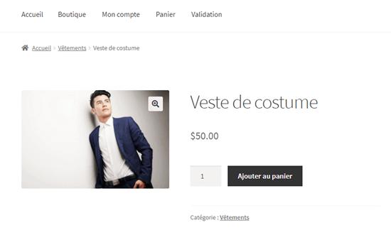 Melihat halaman yang diterjemahkan di situs WooCommerce Anda