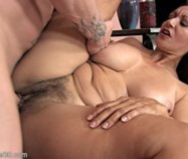 Thick Latina Milf With A Hairy Pussy Gets Fucked Hard