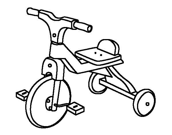 Resultado de imagem para desenho triciclo antigo