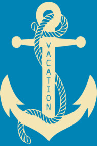 Summer Vacation Anchor TShirts
