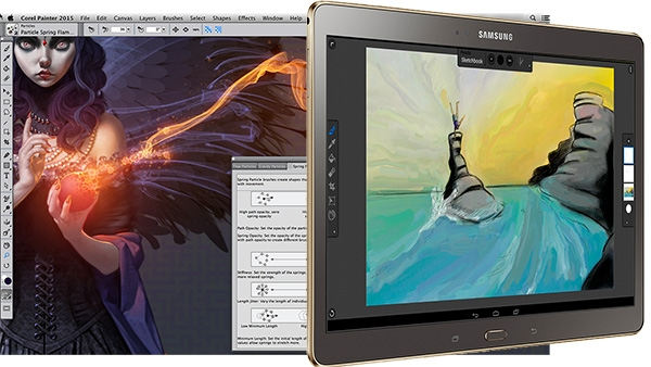Corel Painter 2015 Digital Painting Software Released With