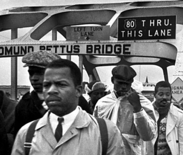John Lewis In A Vintage Photo Taken In Selma Ala Photo Credit John Lewis Via Twitter