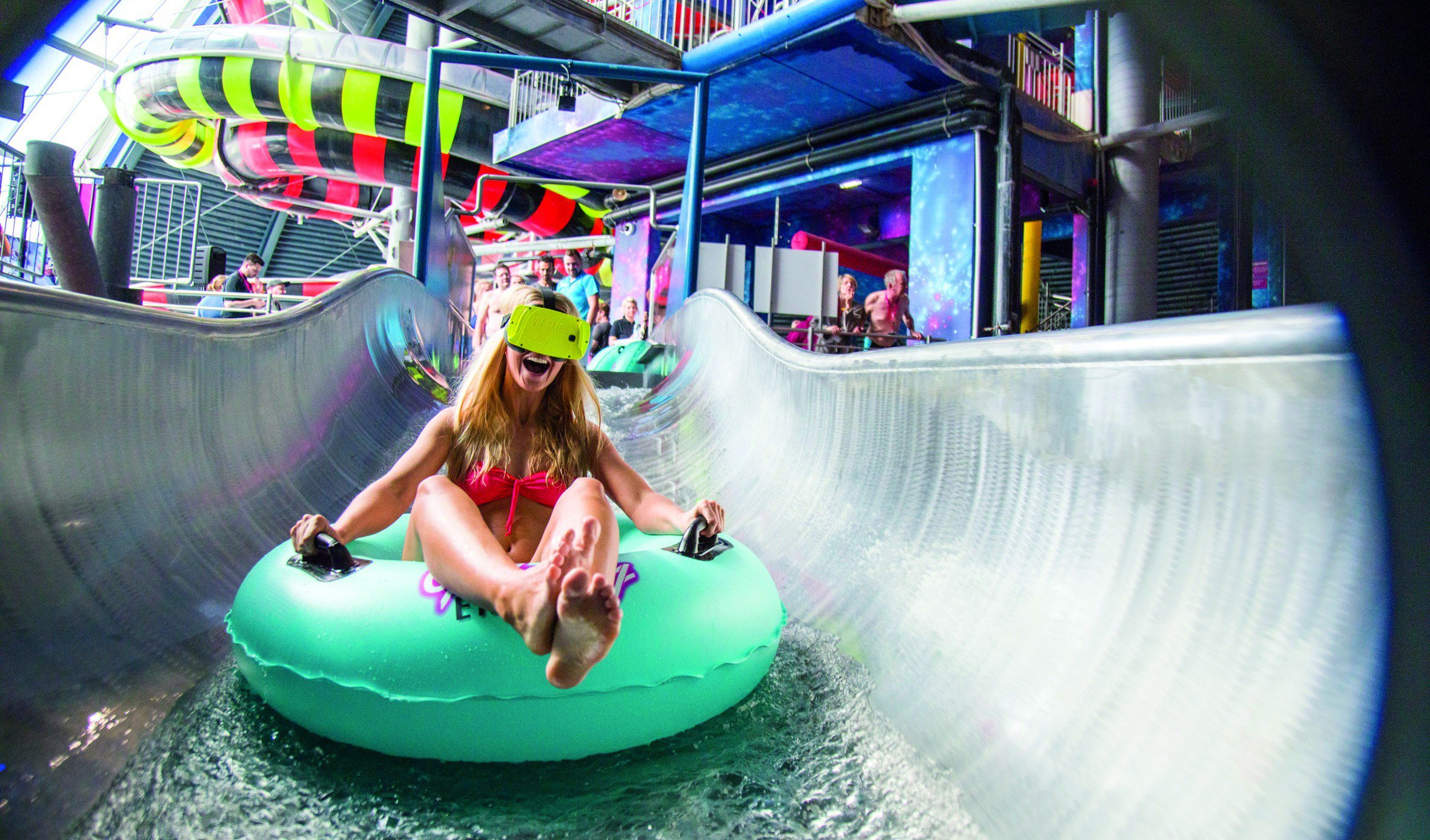 World S First Virtual Reality Water Slide Opens In Germany