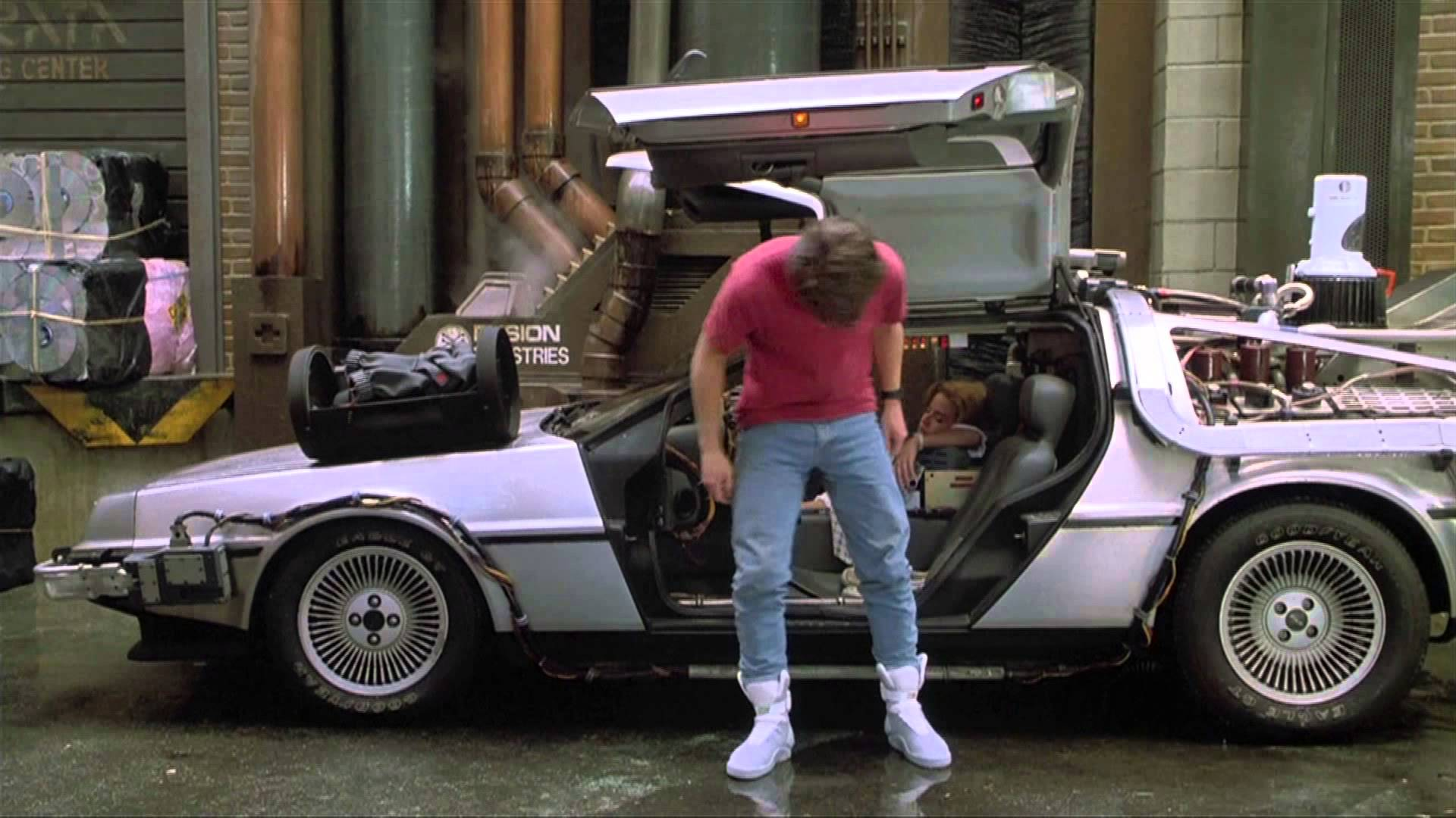 Nike Unveils Marty Mcfly S Iconic Power Lace Shoes On Back To The Future Day Kids News Article