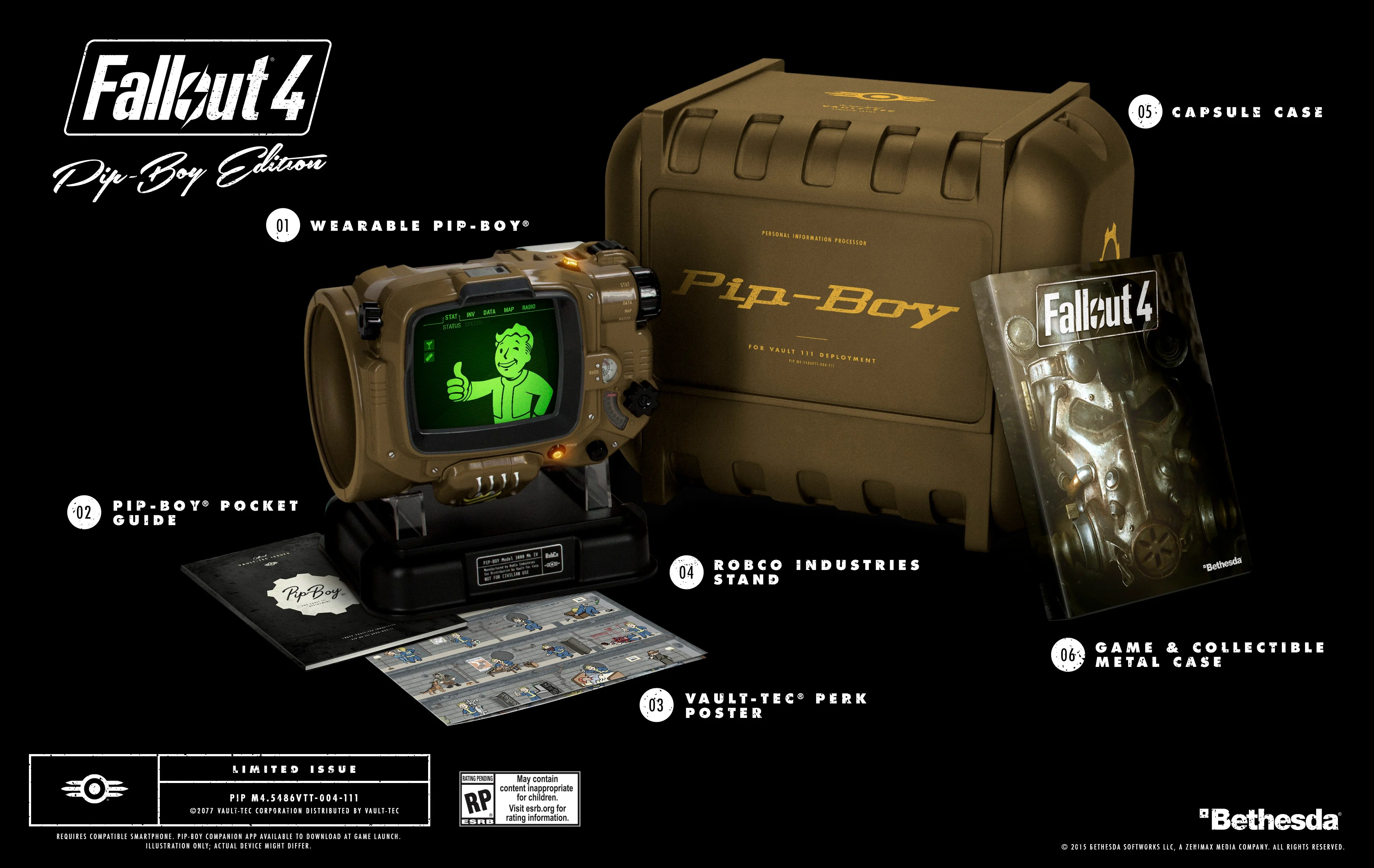 More Fallout 4 Pip Boy Editions Now Available For Pre Order