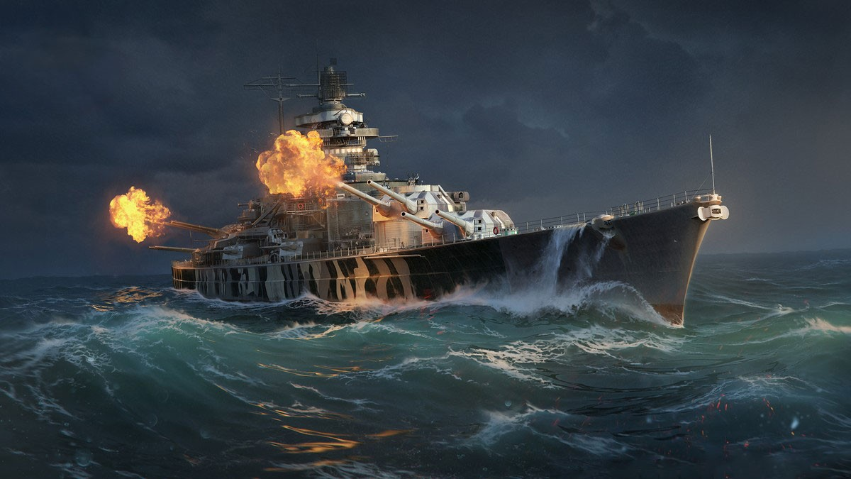 Check Out The Mighty Tirpitz Coming Soon On World Of Warships