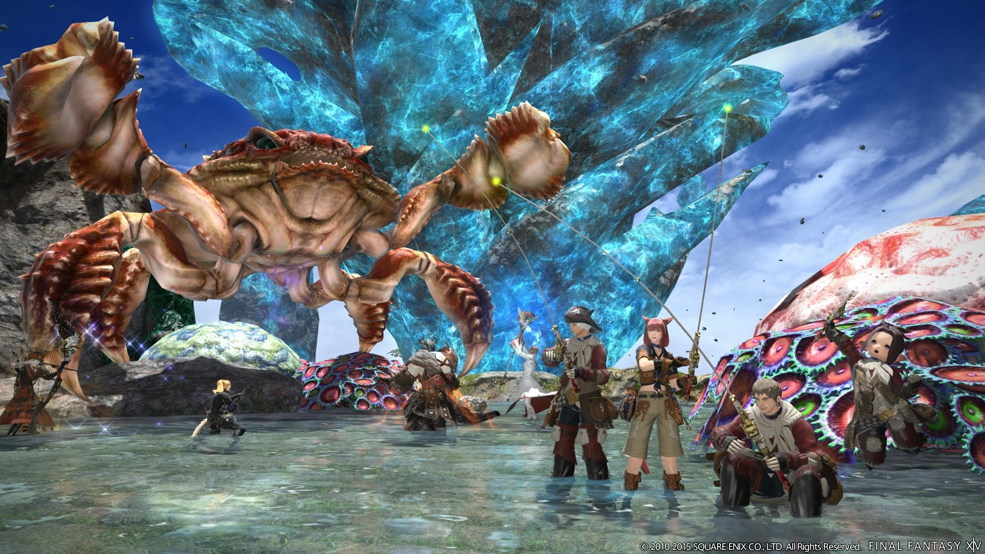 New Final Fantasy XIV Update 31 Screenshots Show Diadem