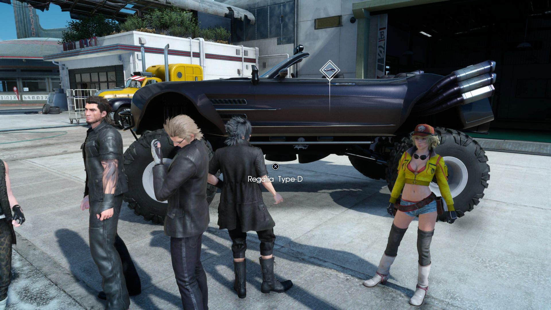 Final Fantasy XV Update 112 Now Available Adds Off Road