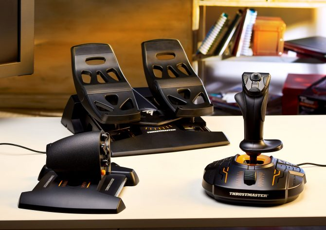 Win A Thrustmaster T16000M FCS Flight Pack With Joystick
