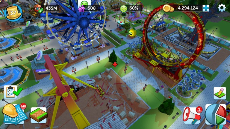 RollerCoaster Tycoon Switchs Features Detailed In