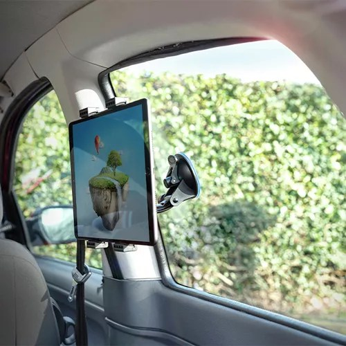 Tablethouder voor de auto