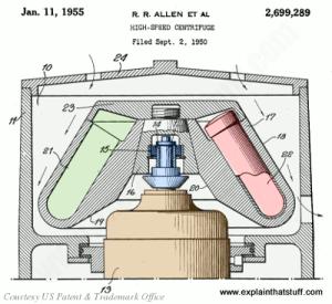 How do centrifuges work?  Explain that Stuff