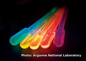 Colorful quantum dots