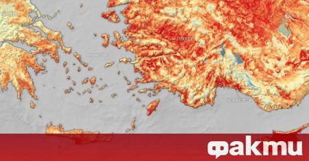 Адска топлина!  В Турция и Кипър повърхностната температура на земята надвишава 50 градуса – Новини Fakti.bg – По целия свят