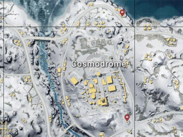 Hasil gambar untuk Cosmodrome mesto Vikendi