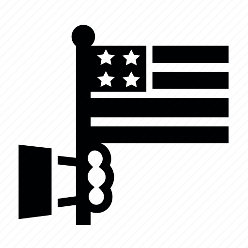 Date, day, flag, presidents icon
