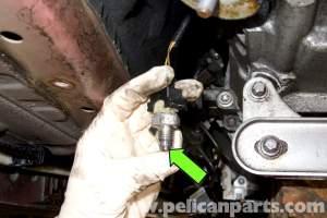 BMW E90 Reverse Light Switch Replacement | E91, E92, E93 | Pelican Parts DIY Maintenance Article
