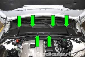 BMW E90 Engine Cover Removal | E91, E92, E93 | Pelican