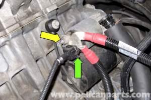 BMW E90 Starter Replacement | E91, E92, E93 | Pelican Parts DIY Maintenance Article