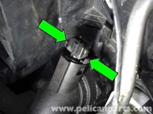 BMW E90 Radiator Outlet Temperature Sensor Replacement | E91, E92, E93 | Pelican Parts DIY