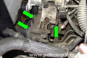 BMW E39 5Series Power Steering Pump Removal | 19972003