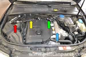 Audi A4 B6 Fixing Common Vacuum Leaks (20022008) | Pelican Parts DIY Maintenance Article