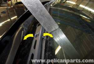 BMW E60 5Series Wiper Blade Replacement (20032010